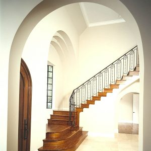 curved home design trend