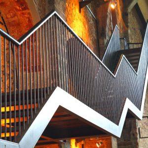 metal staircase design