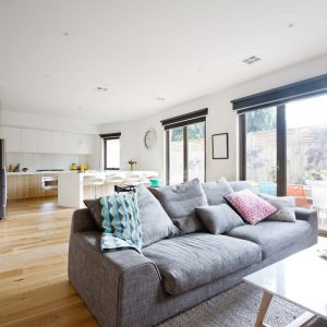 open plan home design trend