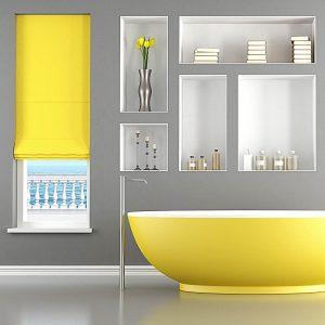 colourful bathroom home design trend