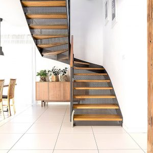 intergrated stairs home design trend