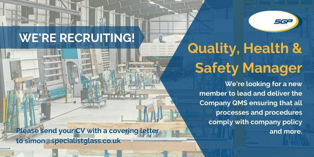 Vacancy – Quality, Health & Safety Manager