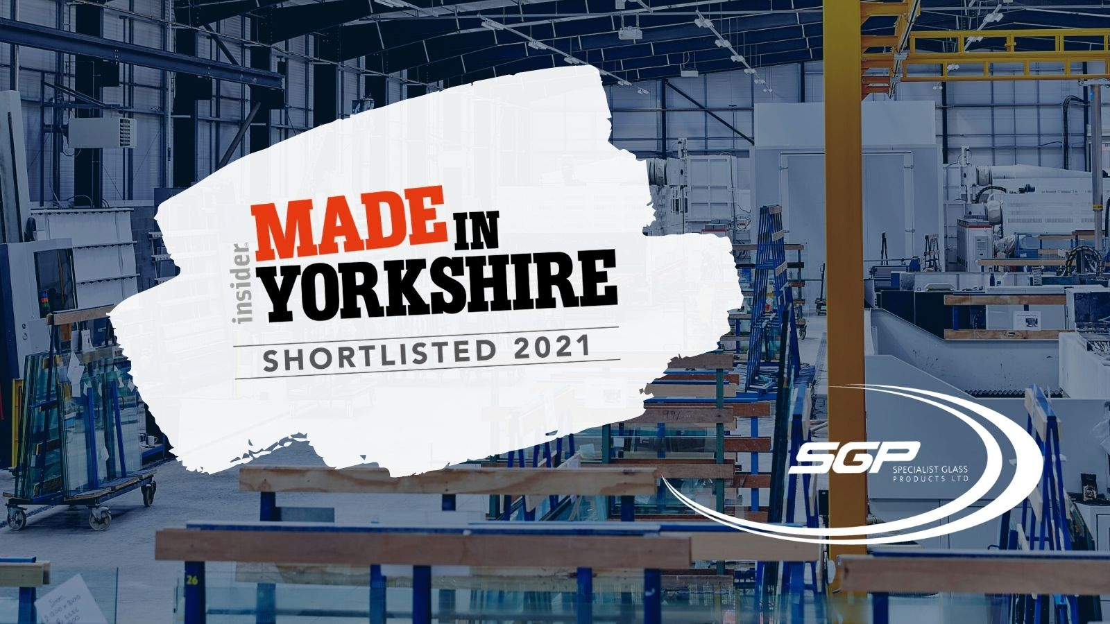 SGP shortlisted for Manufacturer of the Year (under 25m)